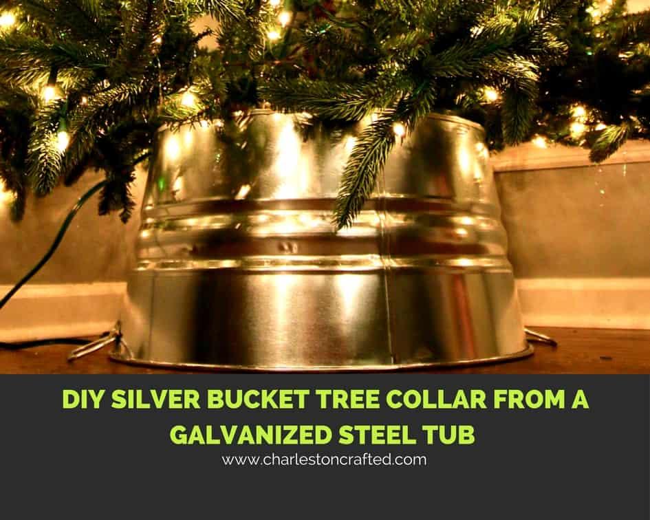 gold christmas tree collar