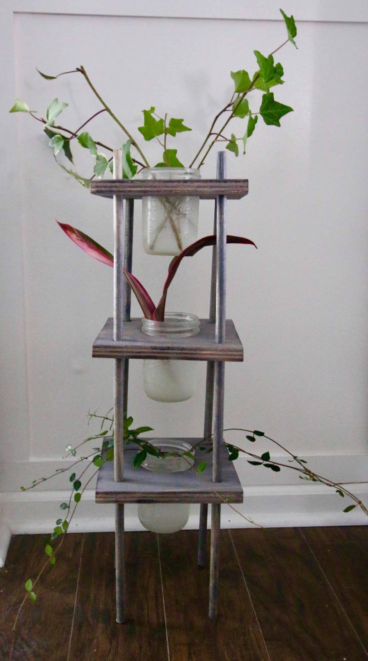 Three Tiered Propagating Plant Stand