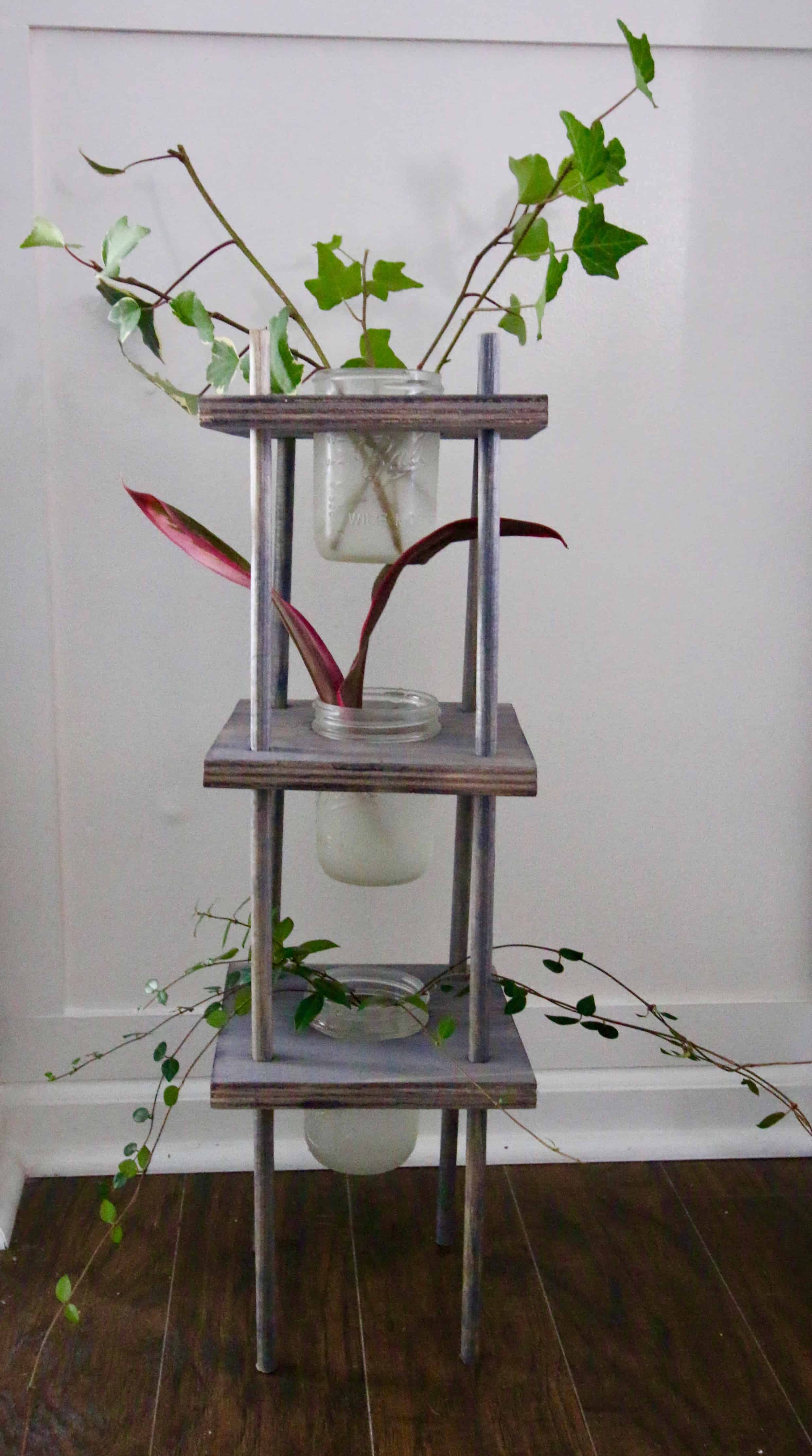 Three Tiered Propagating Plant Stand - Charleston Crafted