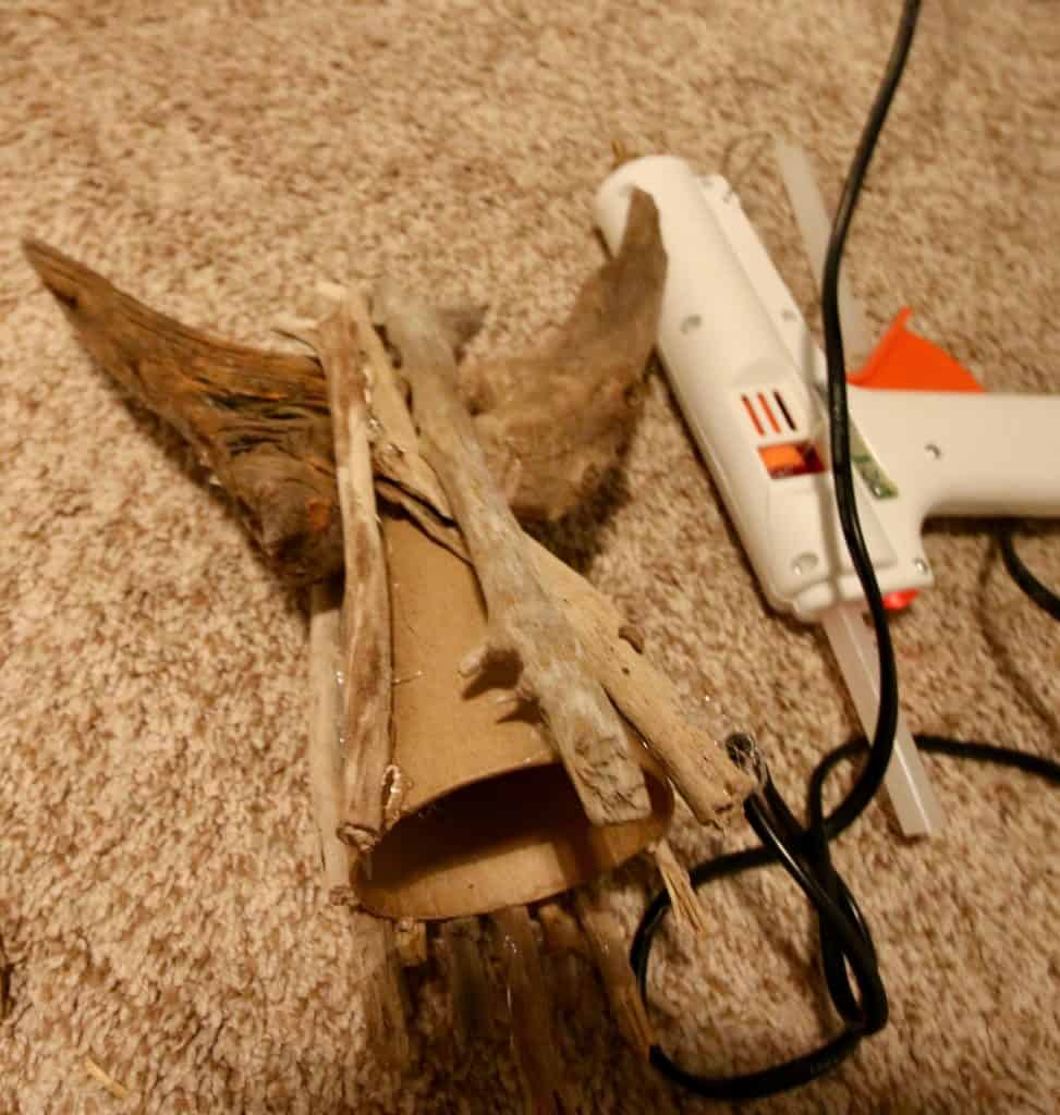 DIY Driftwood Angel Tree Topper - Charleston Crafted