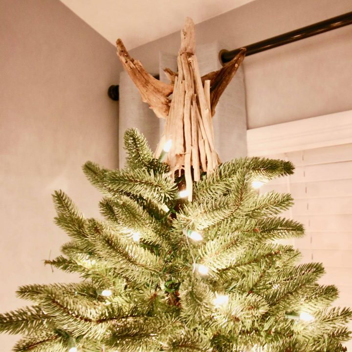 How to make a driftwood angel tree topper