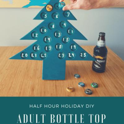 DIY Wooden Adult Advent Calendar