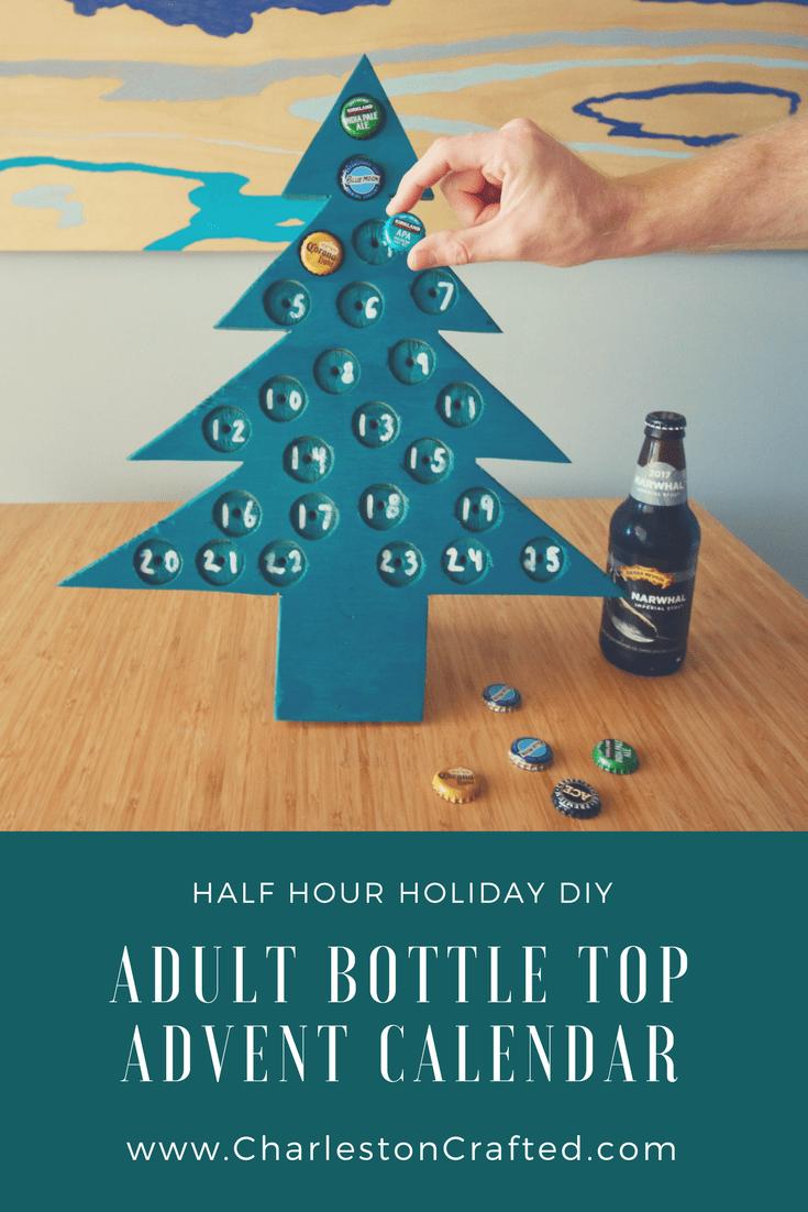 DIYAdult Advent Calendar via Charleston Crafted