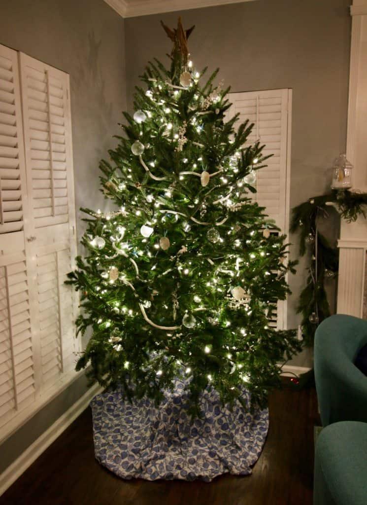 Our 2017 Christmas Trees - Coastal Christmas Tree - Charleston Crafted