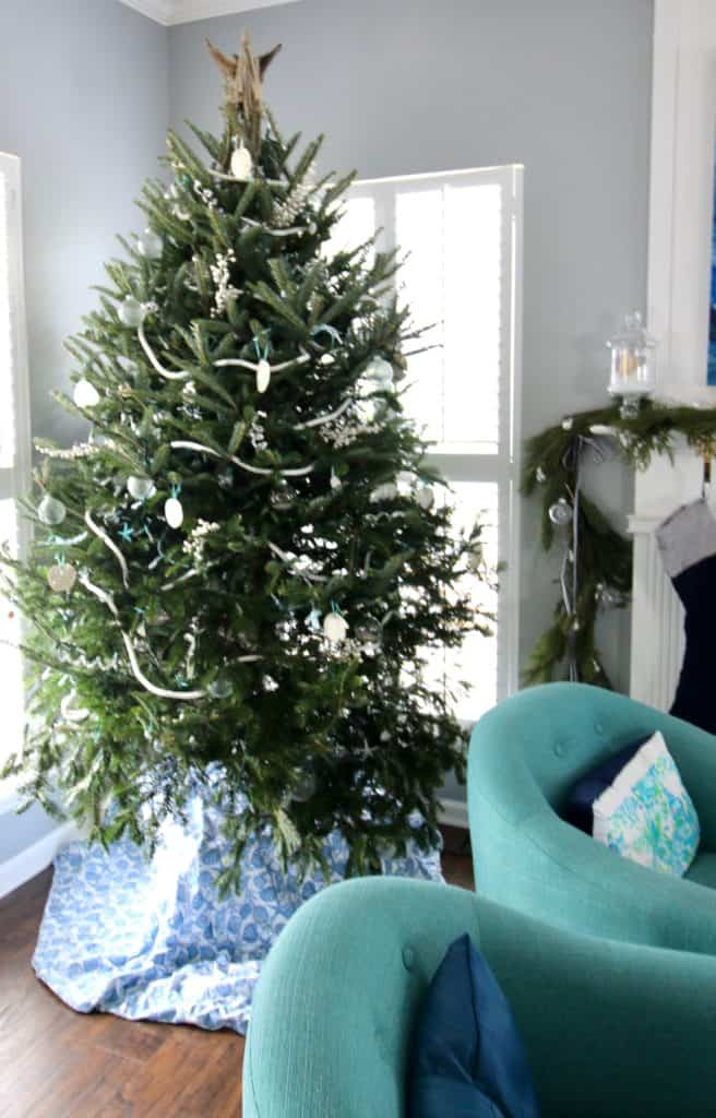Our 2017 Christmas Trees - Coastal Christmas Tree - Charleston Crafted