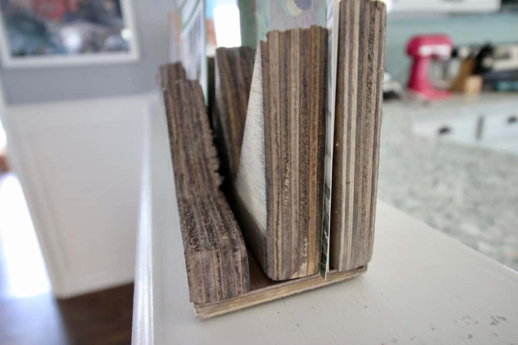 DIY Wooden Mountains Card Holder - Charleston Crafted