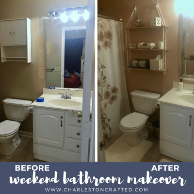 Two Day Bathroom Makeover
