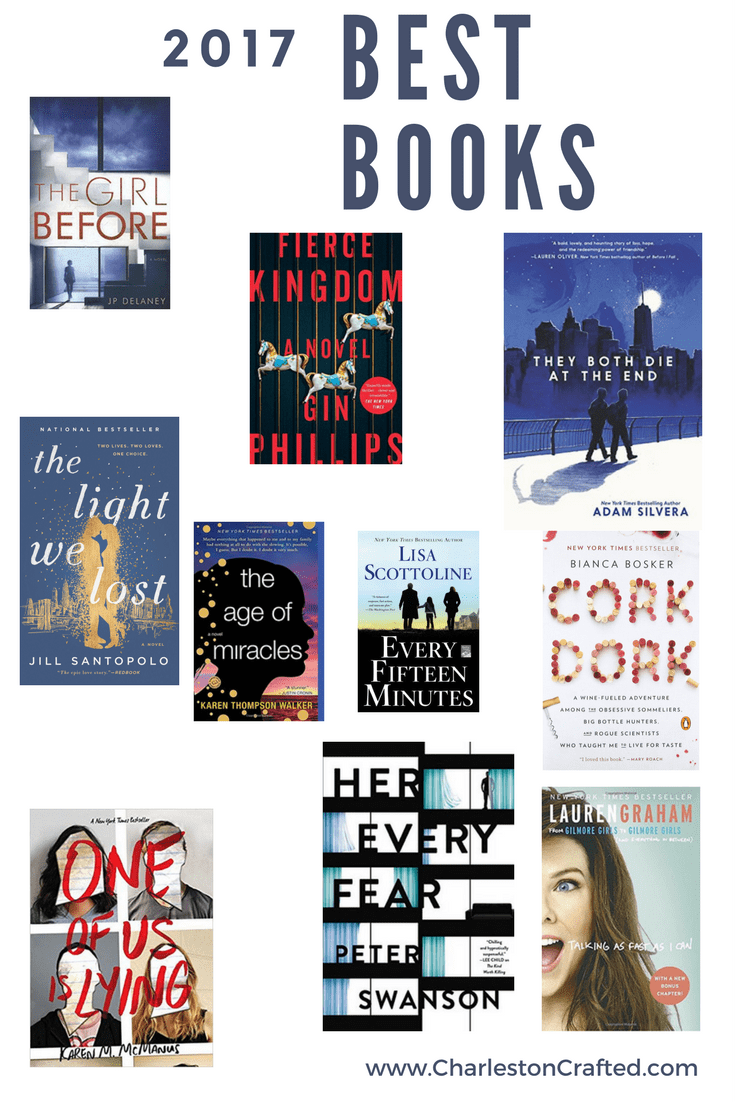 Our Favorite Books in 2017 via Charleston Crafted
