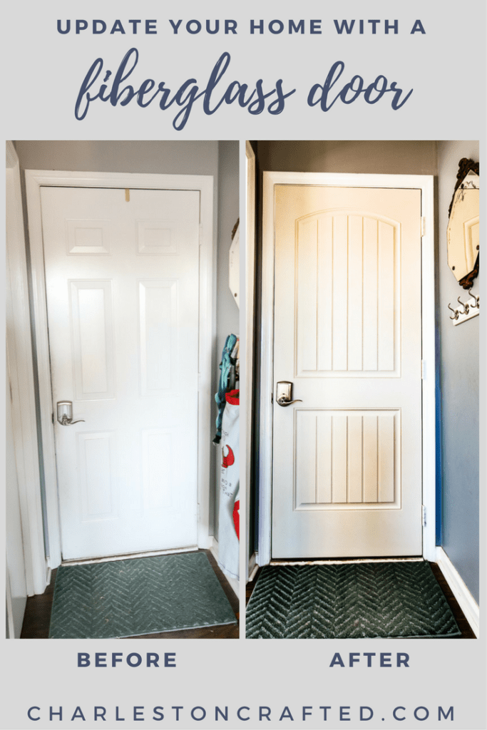 upgrade your home with a fiberglass door - Charleston Crafted