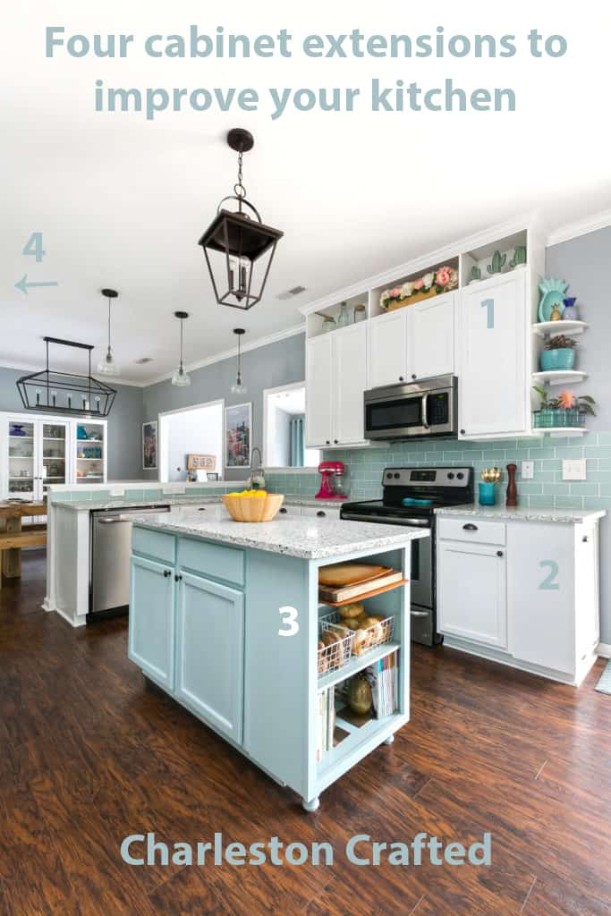 Four cabinet extensions to improve your kitchen - Charleston Crafted