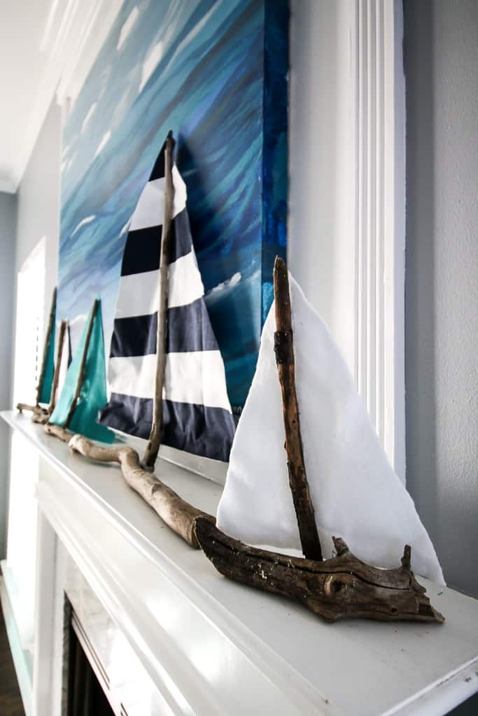 DIY Stick Sailboat