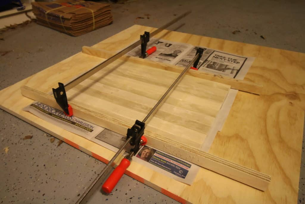 How to make a wooden bar tray - Charleston Crafted
