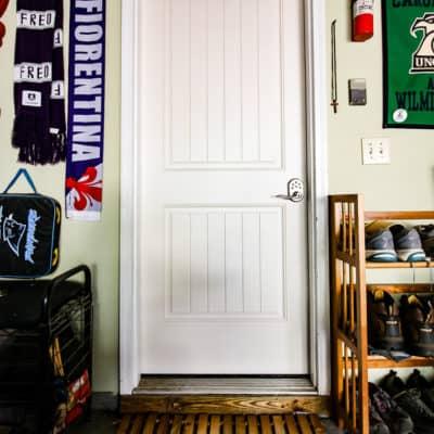 DIY Wooden Door Mat & Our New Therma-Tru Benchmark Door