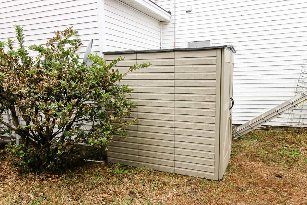 Why we got a Rubbermaid Roughneck Storage Shed via Charleston Crafted