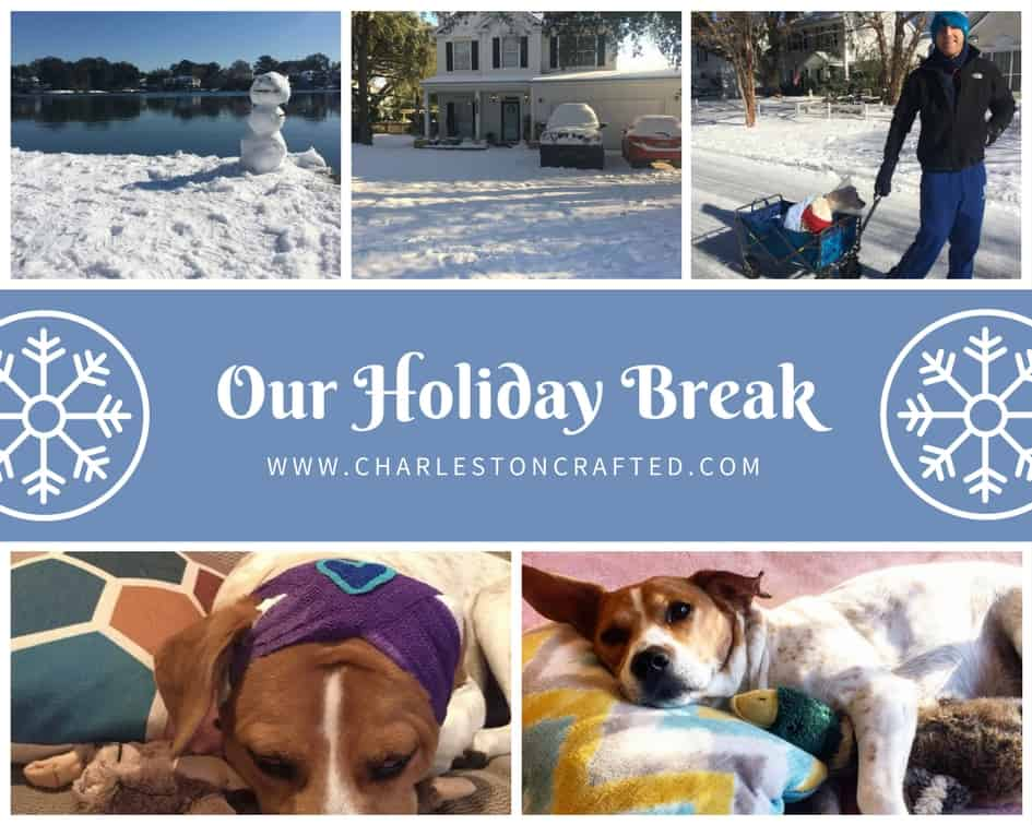 Our Holiday Break - Charleston Crafted