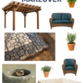 Our New Patio Design Plan via Charleston Crafted