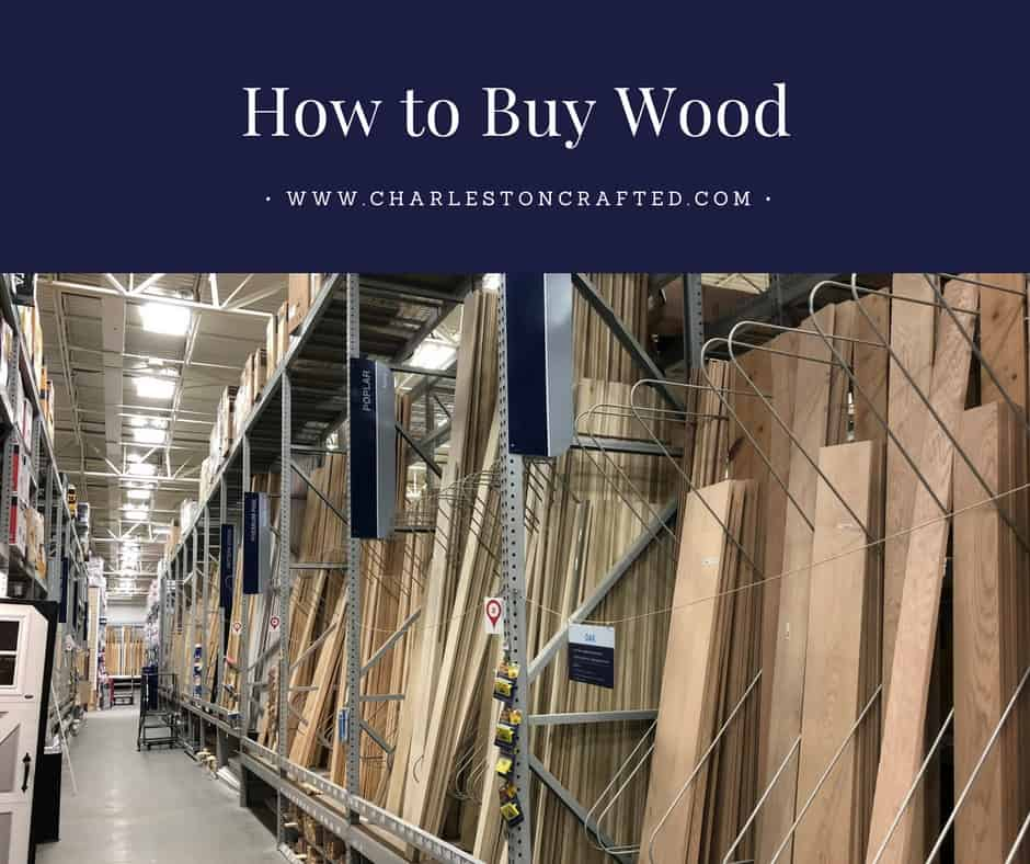 How to Buy Wood - Charleston Crafted
