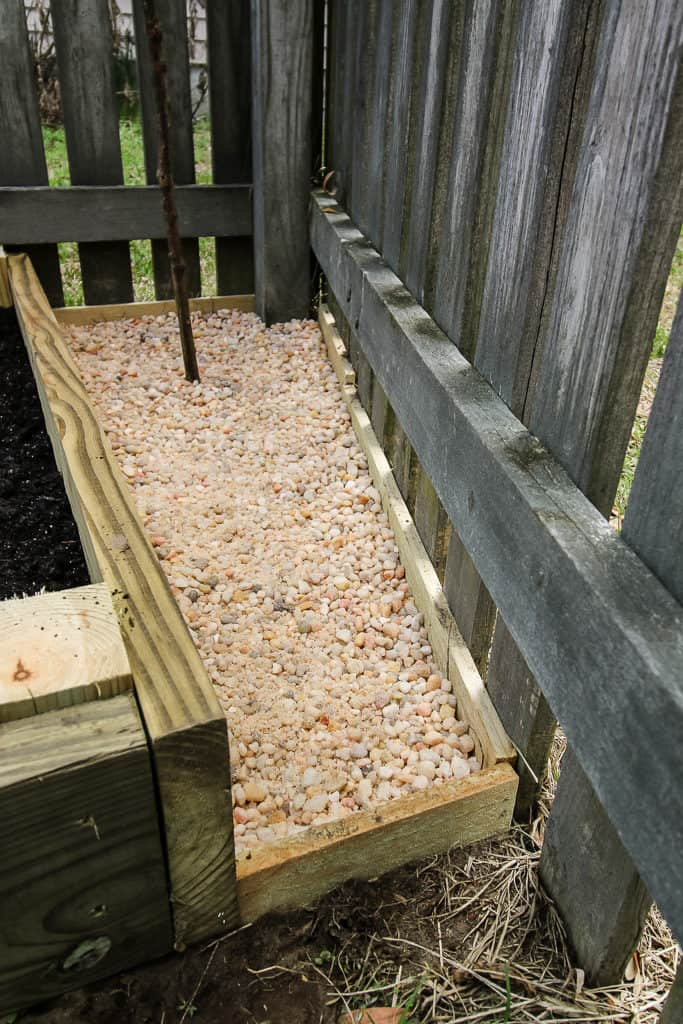 Using Pebbles to Fill Outdoor Dead Space - Charleston Crafted