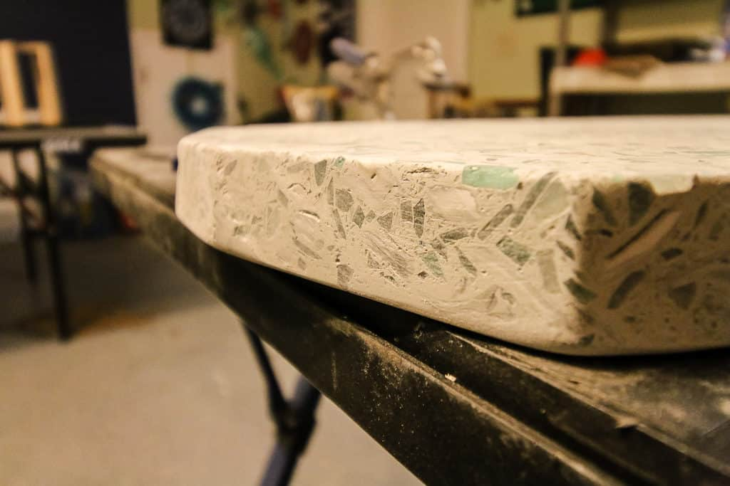 Upcycled Countertop Side Table - Charleston Crafted