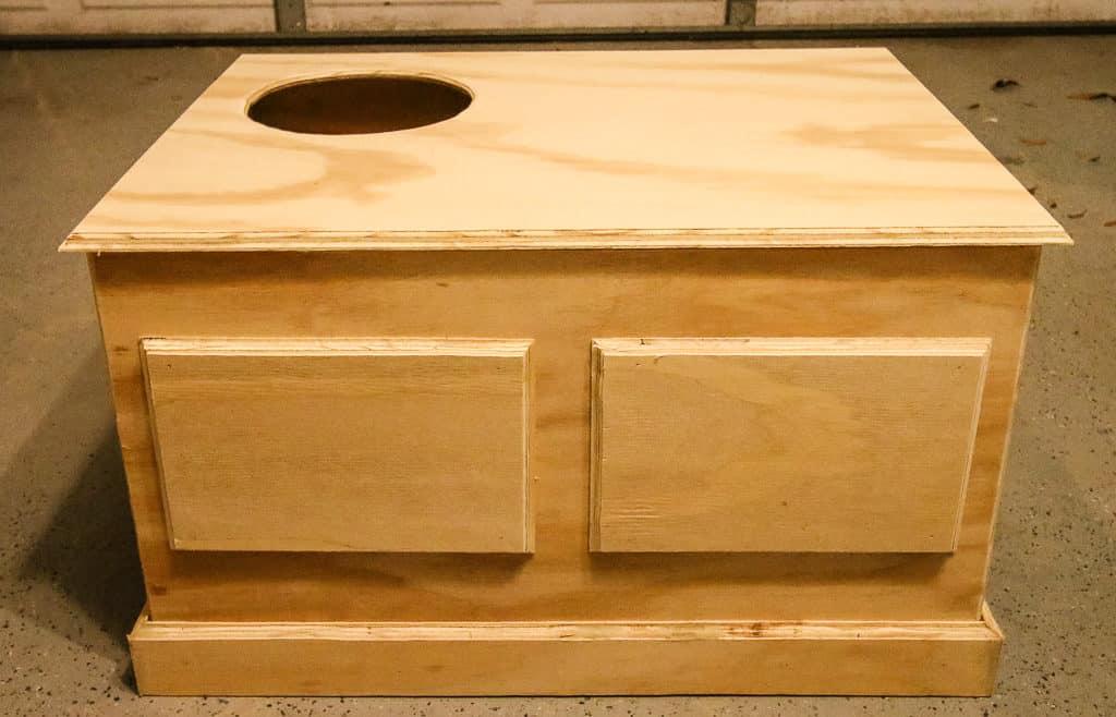 DIY Hidden Litter Box Solution - Charleston Crafted