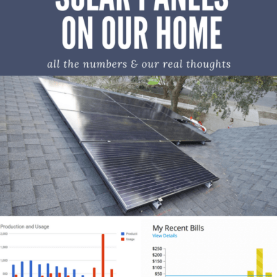Are Solar Panels Worth It? One Year with Our Solar Panels on our Home