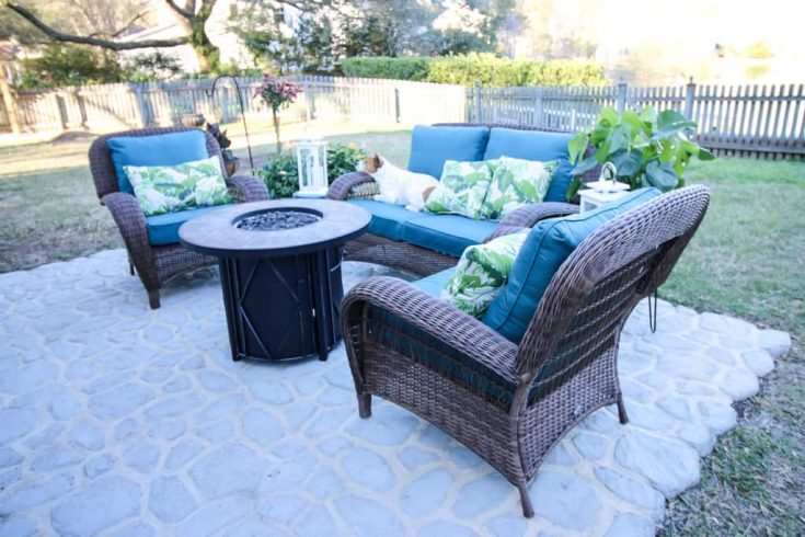 Our Patio for the Home Depot Patio Style Challenge