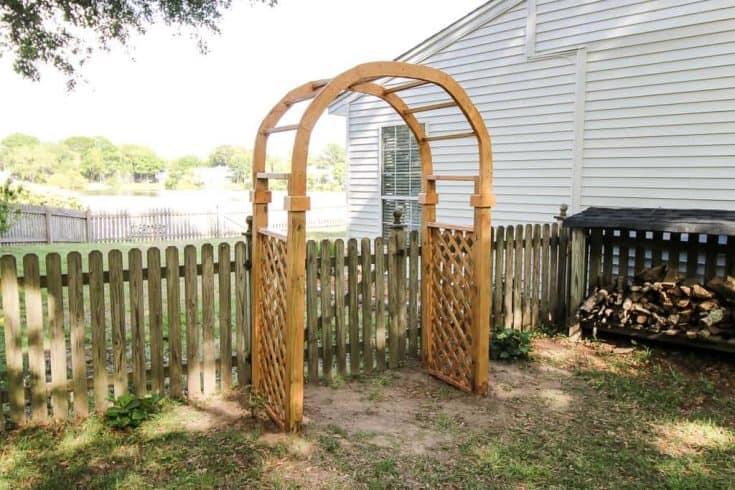 Garden Arbor Arch - Charleston Crafted