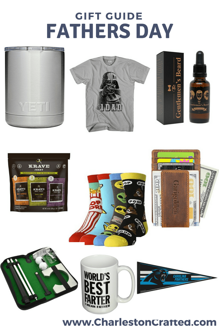 The Definitive 2018 Father's Day Gift Guide via Charleston Crafted