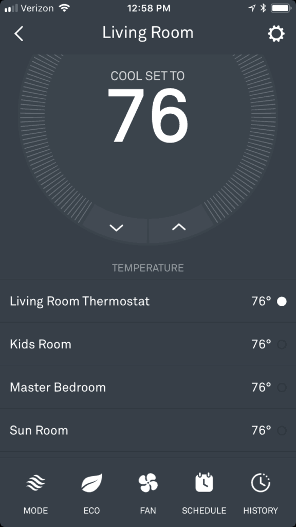 Nest Temperature Sensor Review via Charleston Crafted