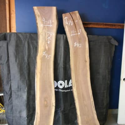 Live Edge Wood Project Plans