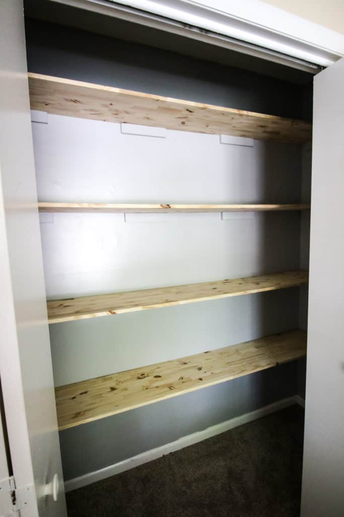 Creating a Craft Supply Closet via Charleston Crafted