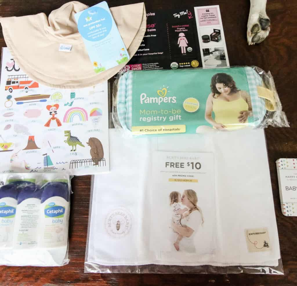 Baby List Free Baby Supplies Unboxing via Charleston Crafted
