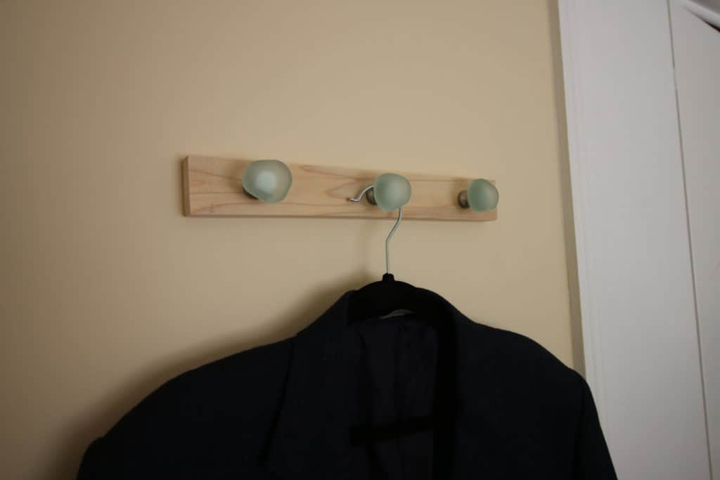 Quick DIY Wall Hooks via Charleston Crafted