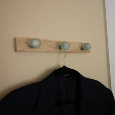 Quick DIY Wall Hooks