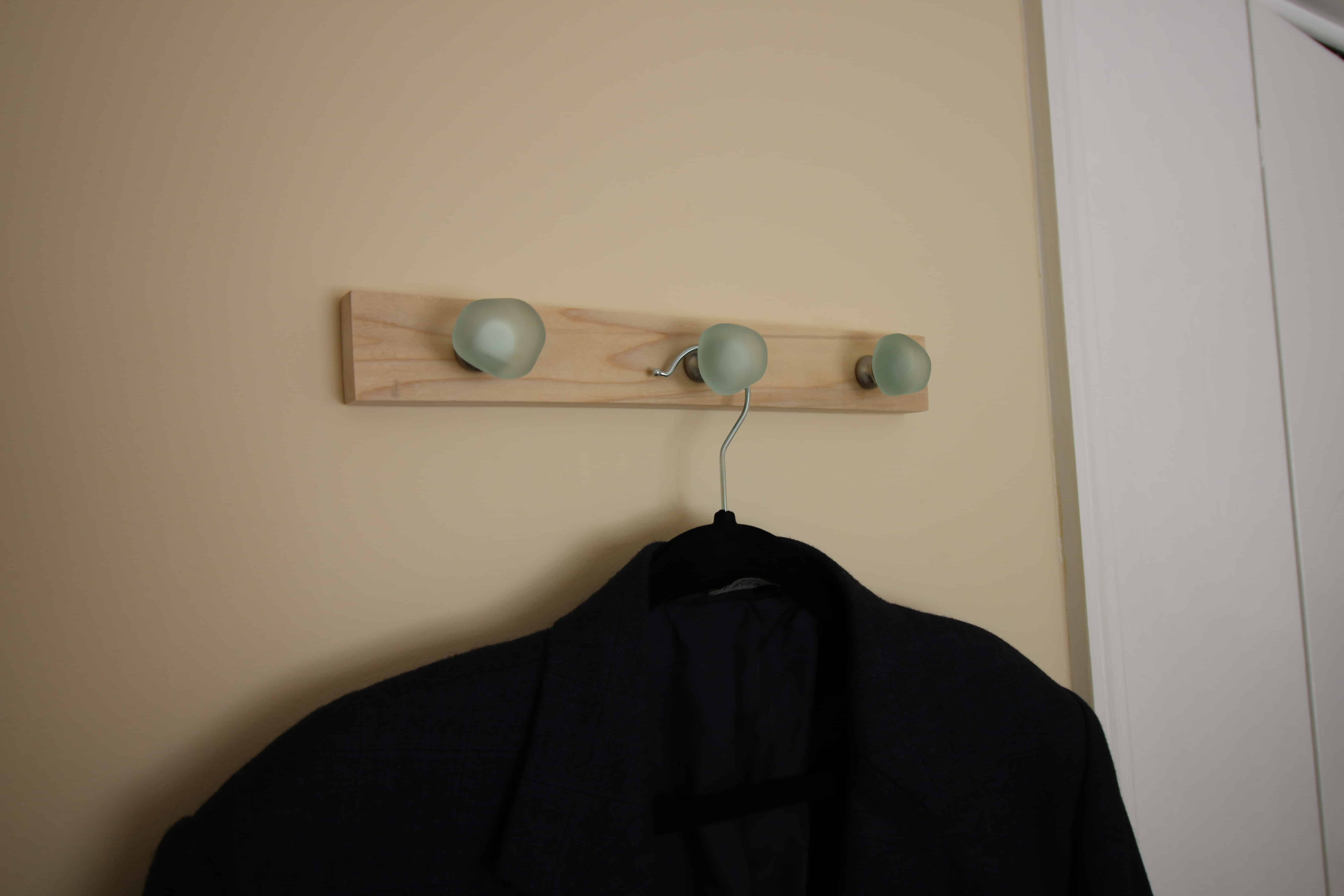 Quick DIY Wall Hooks via Charleston Crafted