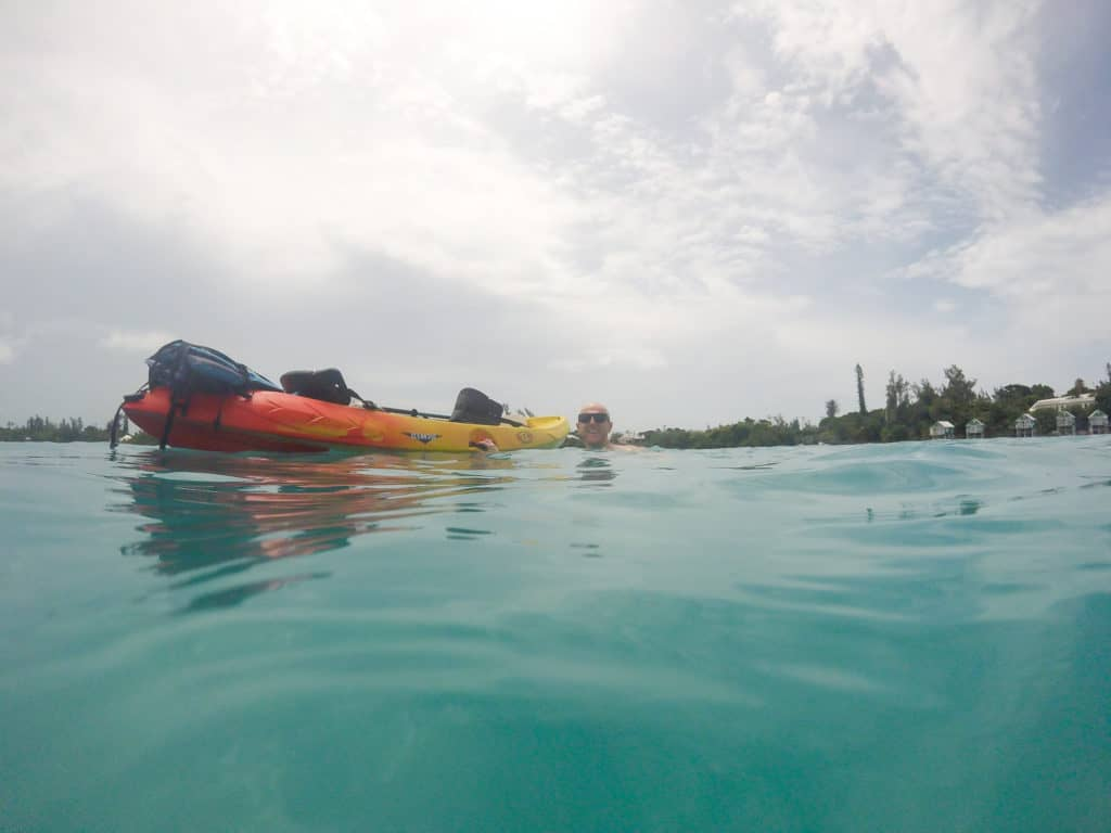 Kayaking in Somerset, Bermuda