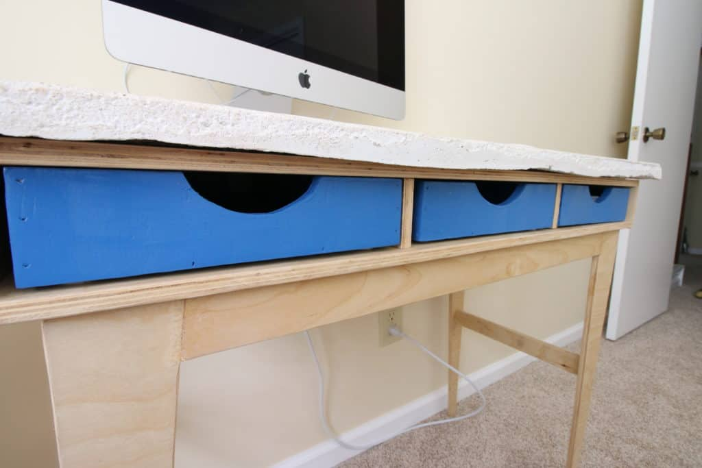Desk Cubby Hole Wooden Trays - Charleston Crafted
