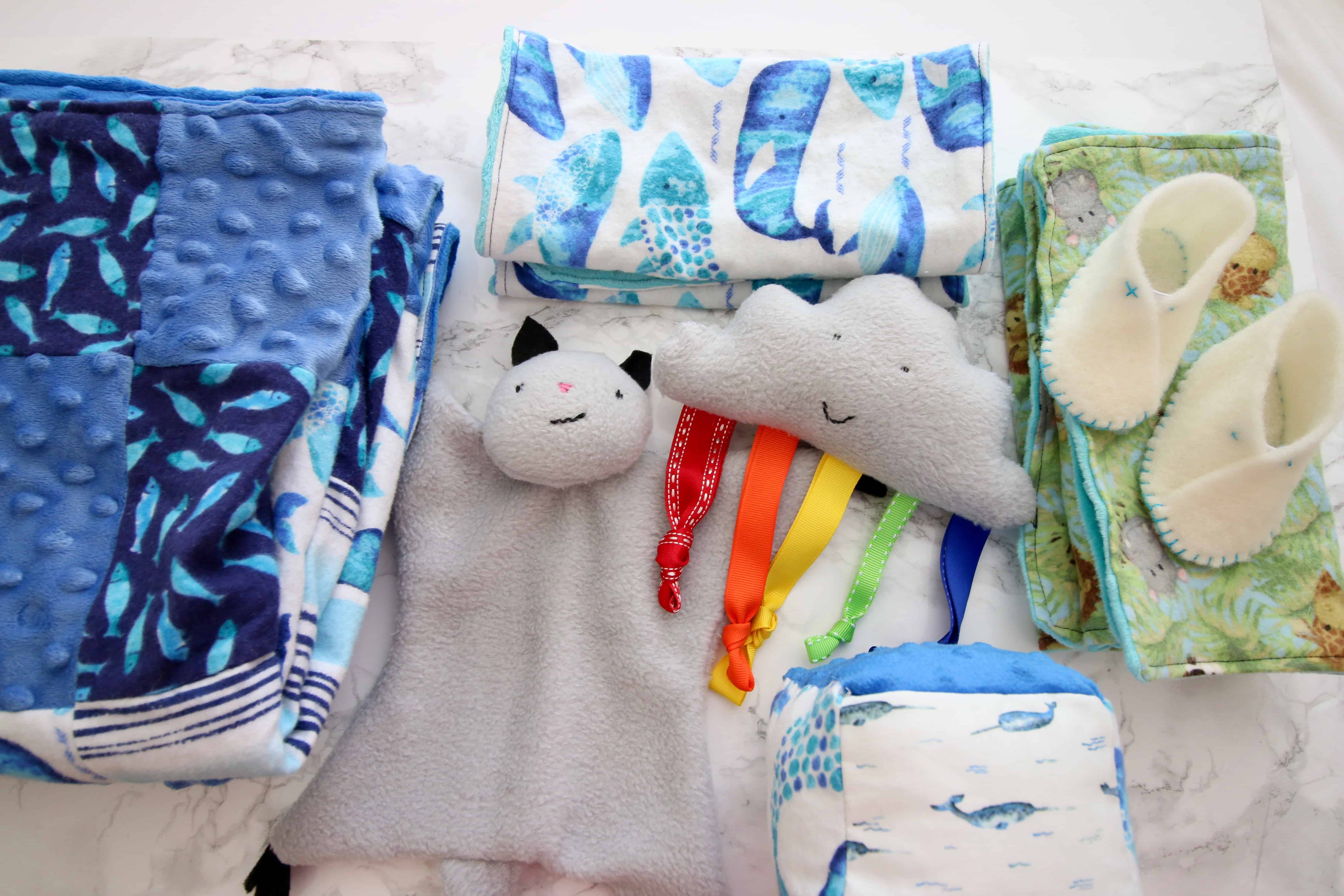 Things to Sew for a Baby Nursery via Charleston Crafted