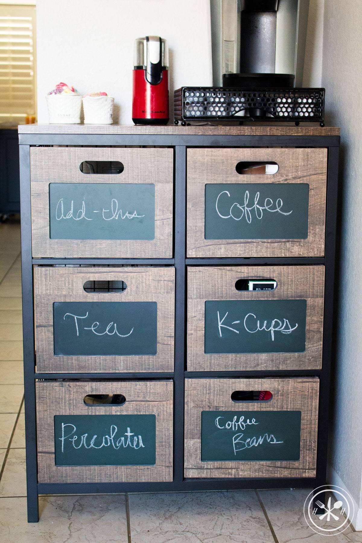Guest Post: DIY Coffee Nook