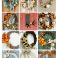 DIY Fall Wreaths via Charleston Crafted