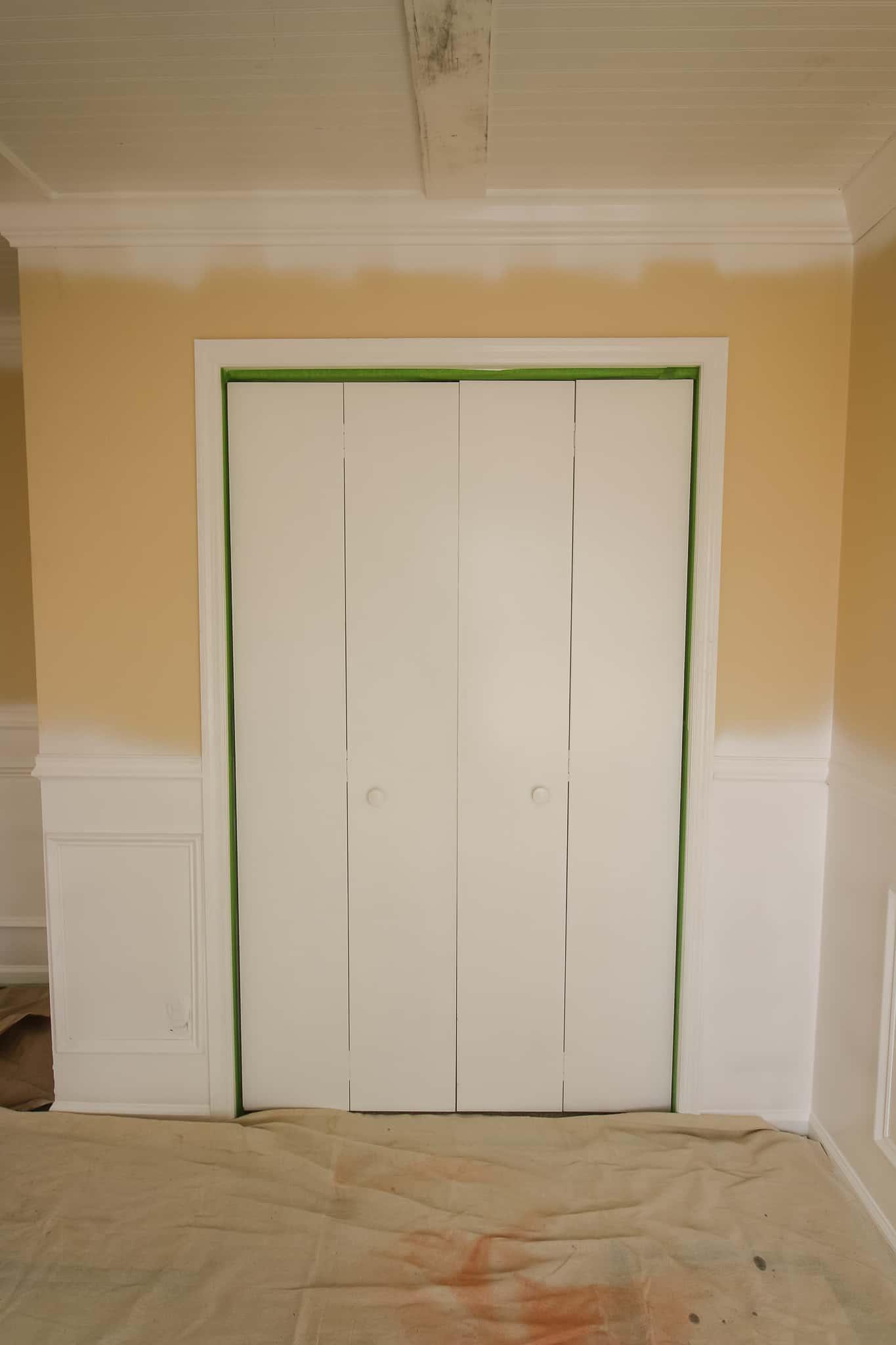 Bi Fold Closet Door Makeover Charleston Crafted
