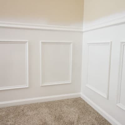 Easiest Way to Install DIY Wainscoting