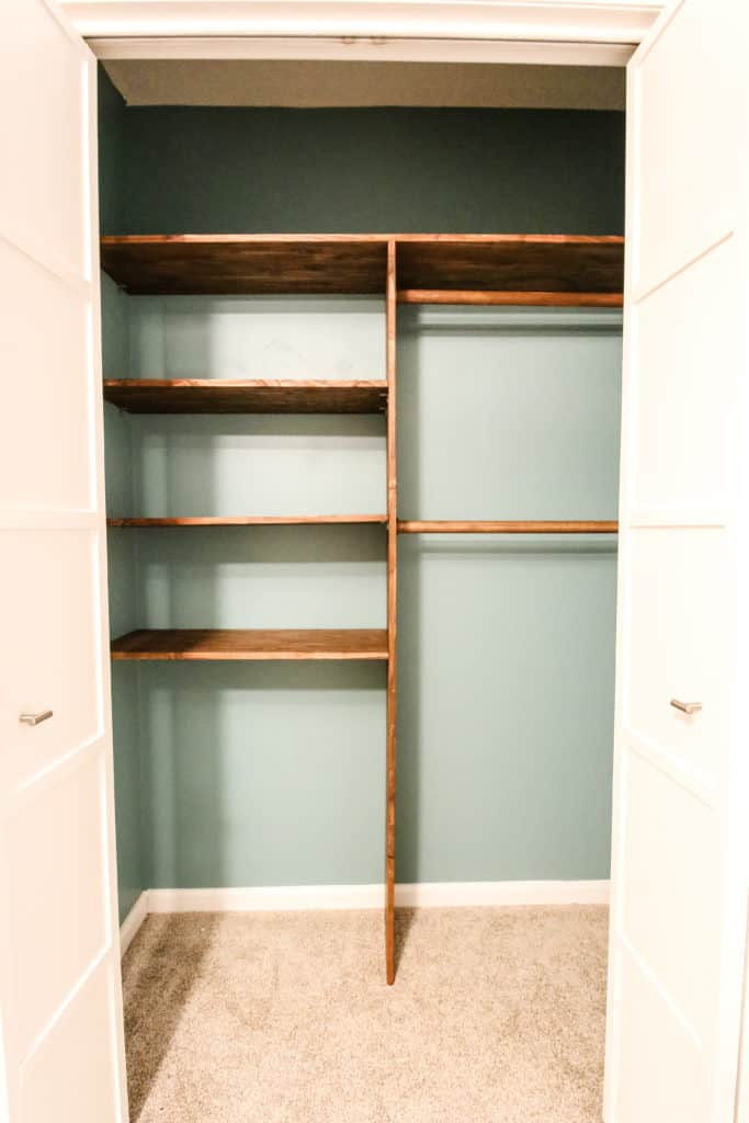 Full Nursery Closet System via Charleston Crafted