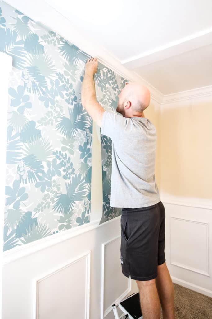 How to Hang Peel & Stick Wallpaper