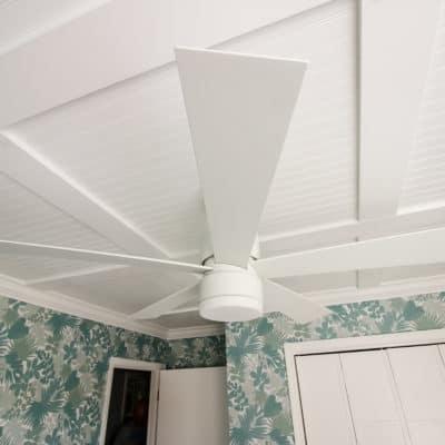 A Stylish Ceiling Fan for the Nursery