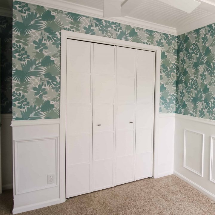 How to make over bifold closet doors