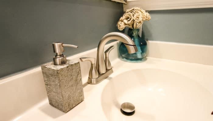Bathroom Faucet Upgrade