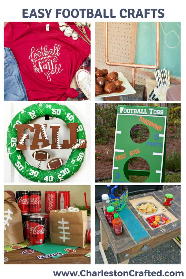 Football Crafts from my favorite bloggers