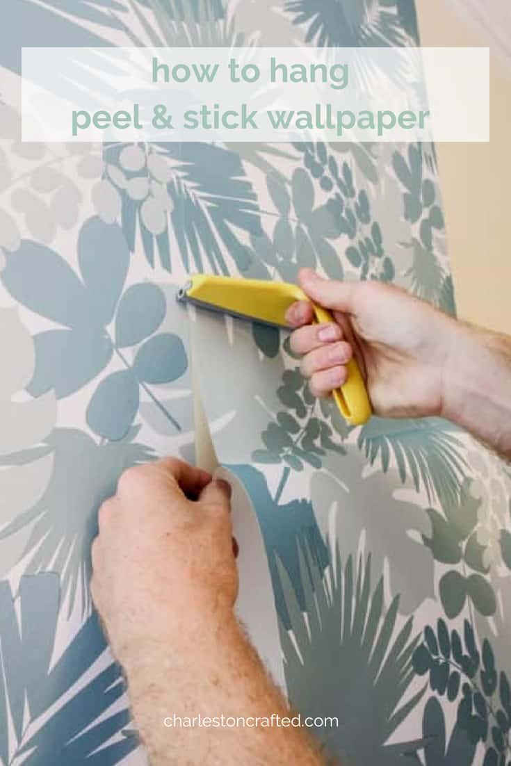 How To Hang Peel Amp Stick Wallpaper
