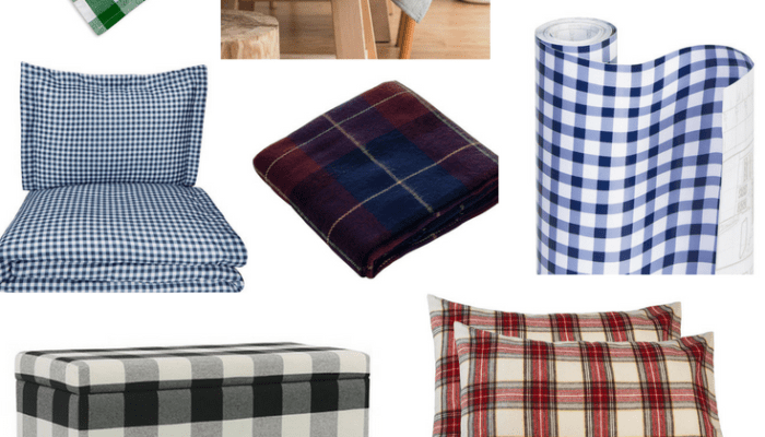 How to Incorporate Plaid Into Your Home Decor